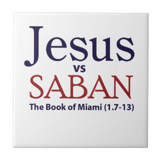 Jesus vs Saban Tiles
