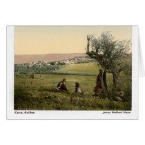 Jesus Walked Here: Cana, Galilee Card