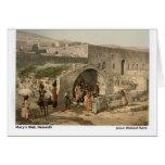 Jesus Walked Here: Nazareth Greeting Card