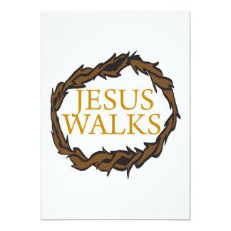Jesus Walks Card