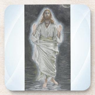 Jesus walks on the sea coaster