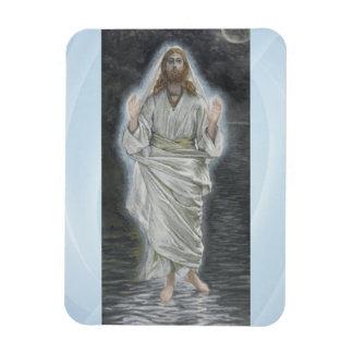Jesus walks on the sea magnet