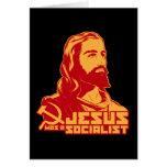 Jesus was a Socialist Card