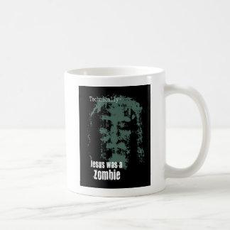 Jesus was a Zombie. Basic White Mug