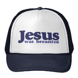 Jesus was breastfed trucker hat