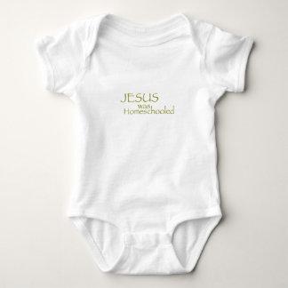 Jesus was Homeschooled Baby Bodysuit
