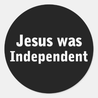 Jesus was independent sticker