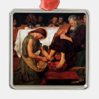 Jesus Washing Peter's Feet Ornament