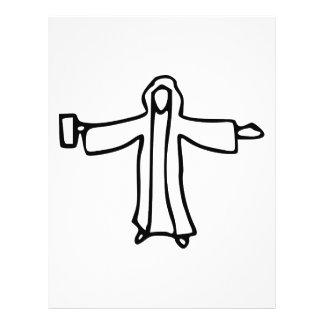 Jesus Water into Wine Flyer