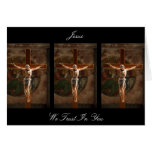 JESUS WE TRUST IN YOU GREETING CARDS