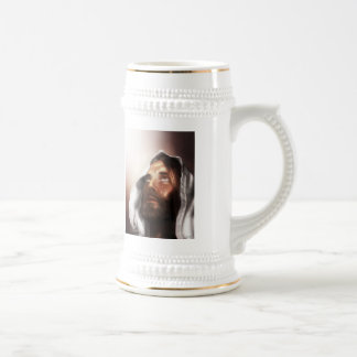 jesus weeping, For God So Loved the World 18 Oz Beer Stein
