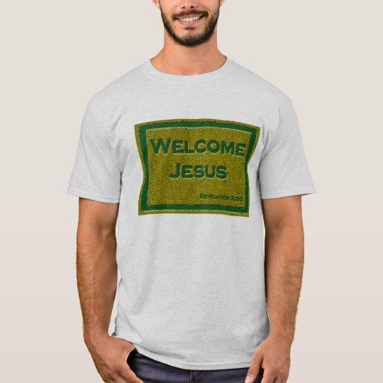 Jesus welcome door mat T-Shirt