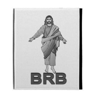 Jesus Will Be Right Back iPad Case