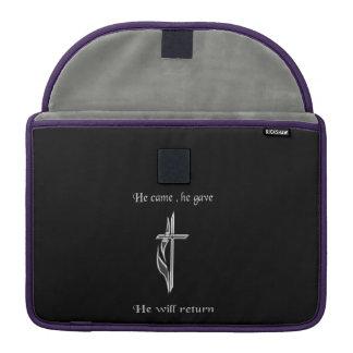 Jesus will return MacBook pro sleeve