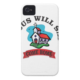 Jesus will say come home Case-Mate iPhone 4 case