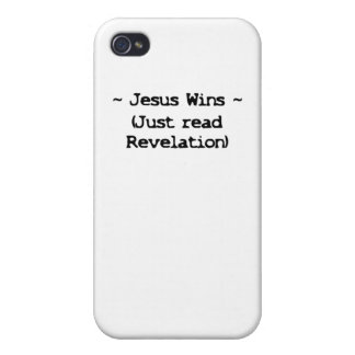 Jesus Wins Covers For iPhone 4
