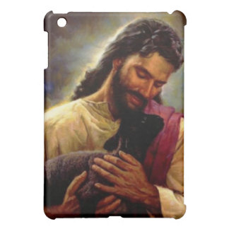 Jesus with a Black Lamb I pad Case iPad Mini Covers