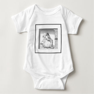 JESUS WITH AN ANGEL BABY BODYSUIT