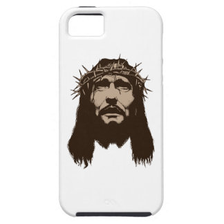 JESUS WITH CROWN OF THO iPhone 5 CASE