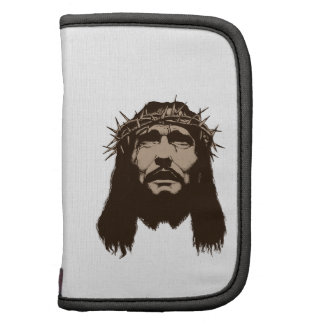 JESUS WITH CROWN OF THO FOLIO PLANNERS