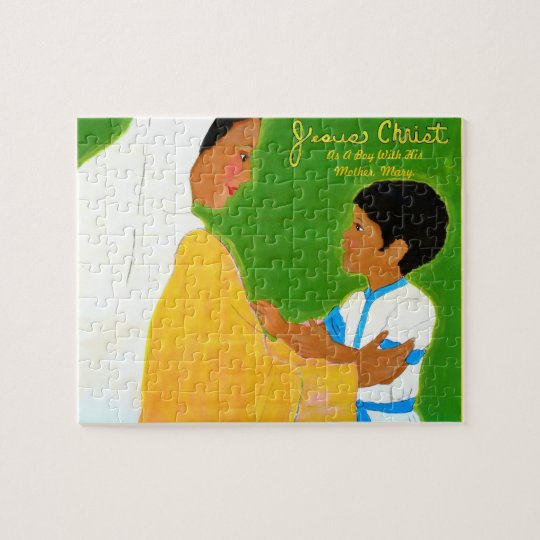 Jesus with His Mother Jigsaw Puzzle