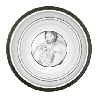 Jesus With Lamb Bowl
