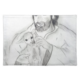 Jesus With Lamb Placemat