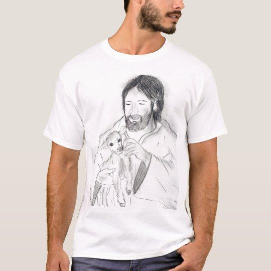 Jesus With Lamb T-Shirt