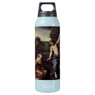 Jesus with Mary After Resurrection Insulated Water Bottle