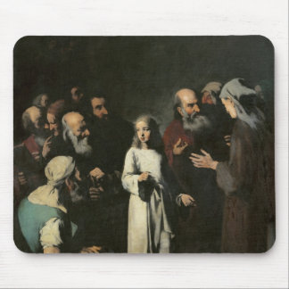 Jesus with the Doctors Mouse Pad