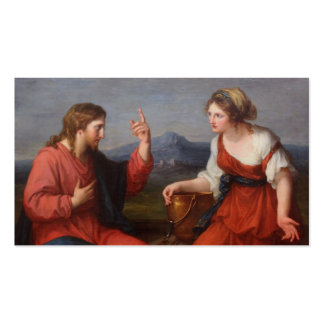 Jesus with the Woman at the Well Business Card