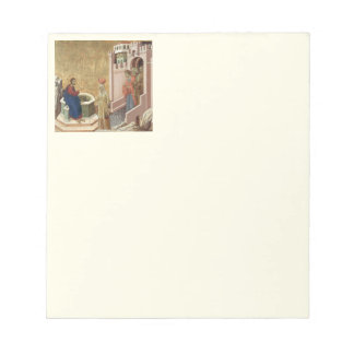 Jesus with Woman at Well Memo Note Pads