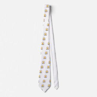 jesus world light neck tie