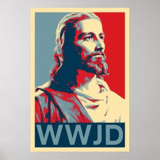Jesús WWJD Impresiones