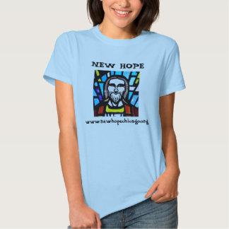 Jesus, www.newhopechicago.org, NEW HOPE T-shirt