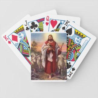 Jesús y corderos barajas