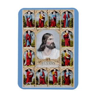 Jesús y el imán de los apóstoles
