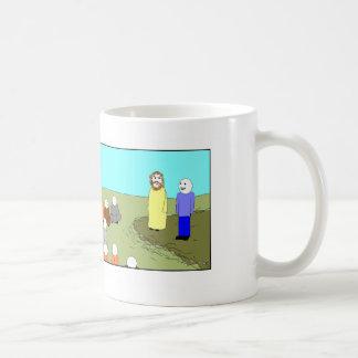 Jesús y el intérprete 1 tazas de café