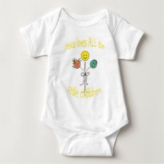 Jesús y globos camiseta
