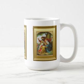Jesús y la taza de café de los niños