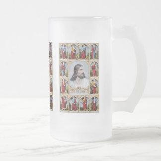 Jesús y la taza de los apóstoles