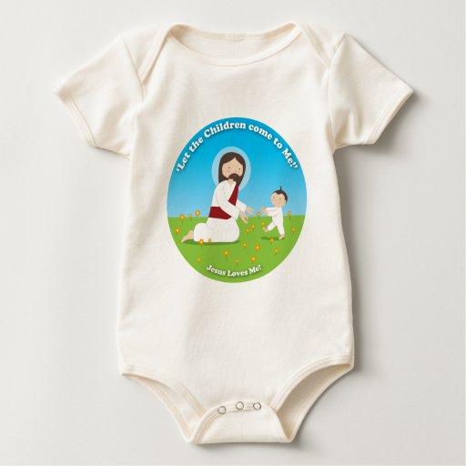 Jesús y niño trajes de bebé