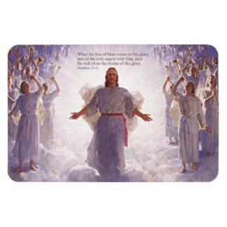 Jesús y sus ángeles 1 imán superior