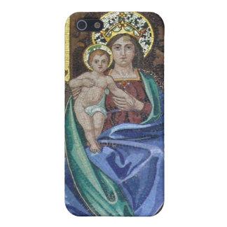 Jesús y Virgen María iPhone 5 Coberturas