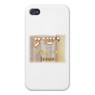 Jesus (Yeshua) in Hebrew iPhone 4/4S Covers