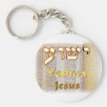 Jesus (Yeshua) in Hebrew Key Chain