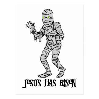 Jesus Zombie Postcard