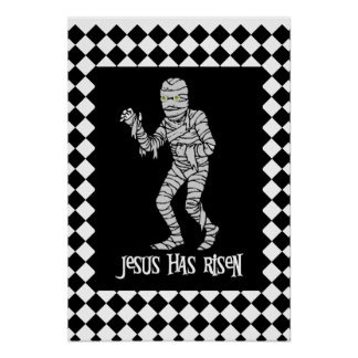 Jesus Zombie Print