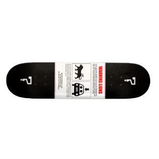 Jesuschristit'saliongetinthecar Skateboard Deck