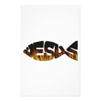 jesusfirefish stationery